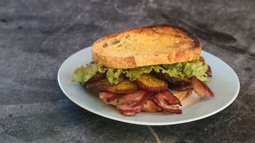 BLB's - Bacon, Lettuce, and Beet Sandwiches